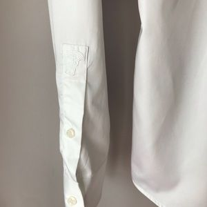 Versace Collection Shirts - Versace Embroidered Sleeve Shirt Sz 15 1/2